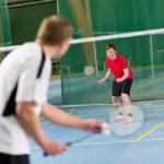 badminton spil